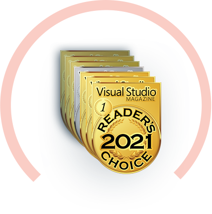 Visual Studio Magazine Reader's Choice 2017