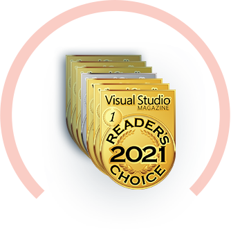 Visual Studio Magazine Reader's Choice 2016