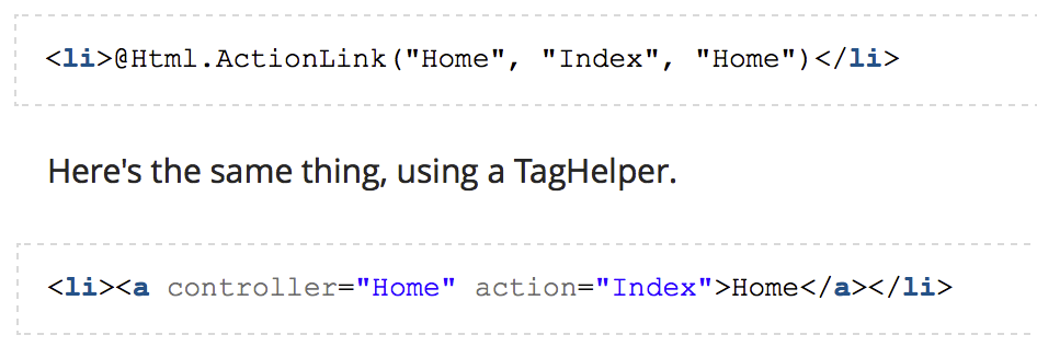 DevExtreme Tag Helpers - Tag Helper