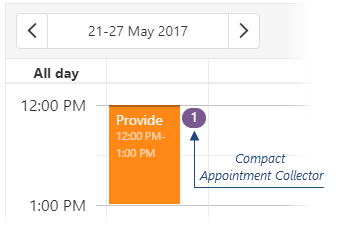 Scheduler Compact Appointment Collector